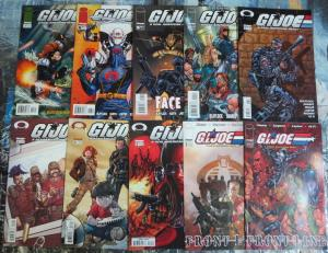 GI Joe Image Lot of 20 Comics Real American Heroes Fighting Fake Crazy Villains+
