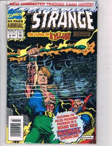 Dr Strange Annual #3 NM/M Marvel Comics Sealed Bag Comic Book 1993 DE47 AD33