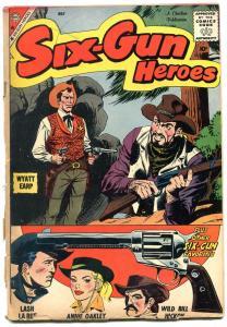 Six-Gun Heroes #41 1959- Lash LaRue- Annie Oakley