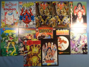 Lot of 12 Wizard Mini Comics Spider-Man Ren Stimpy Vampirella Beavis Butthead