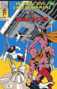 Simulators, The #1 VF/NM; Neatly Chiseled Features | save on shipping - details