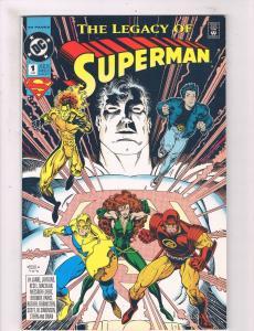 The Legacy Of Superman # 1 VF/NM DC Comic Books Justice League Batman Flash! SW8