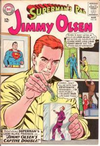 JIMMY OLSEN 83 VG-F Mar. 1965 COMICS BOOK