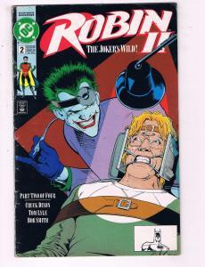 Robin 2 #2 VF DC Comics Comic Book Dixon Batman Joker DE19