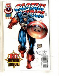 Lot Of 13 Captain America Marvel Comic Books # 1 2 3 4 5 6 7 8 9 10 11 12 13 DB2