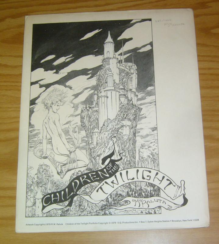 Children of the Twilight Portfolio by Mike Kaluta w/limited plate (202 of 1,000)