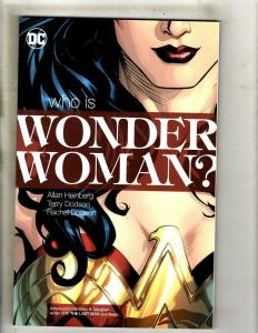Who Is Wonder Woman DC Comics TPB Graphic Novel Comic Book Justice League J337