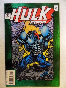 Hulk 2099 #1 (1994) GREEN FOIL COVER