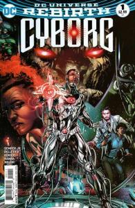 Cyborg (2016 series) #1, NM + (Stock photo)