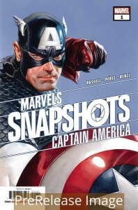 CAPTAIN AMERICA MARVELS SNAPSHOT (2020 MARVEL) #1 PRESALE-06/24