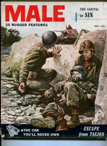 Male 1/1952-Atlas-Harry Schaare-Stalin-pulp-FN