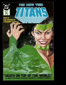 Lot Of 12 New Teen Titans DC Comics # 21 22 23 24 25 26 27 28 29 30 31 32 JF7