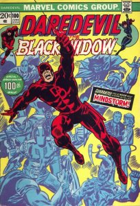 Daredevil #100 (ungraded) stock photo