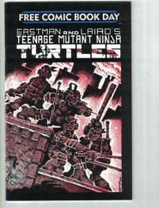 Teenage Mutant Ninja Turtles #1 FN fcbd - free comic book day variant 2009