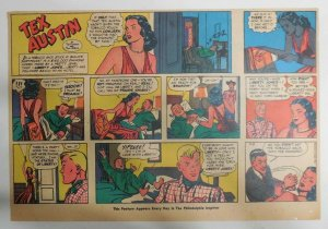 Tex Austin Sunday by Fanning,Robins & Mayo from 5/8/1949 11 x 15 inch Year #1