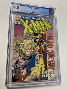 Uncanny X-men 316 Cgc 9.8 Marvel White Pages 1st Generation X Phalanx