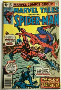 MARVEL TALES#111 FN/VF 1979 SPIDER-MAN BRONZE AGE COMICS