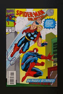 Spider-Man Unlimited #6 August 1994