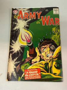 Our Army at War 61 VG-  Pre Sgt. Rock Easy Company