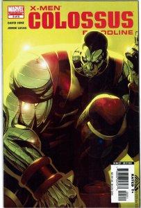 X-Men: Colossus Bloodline #3 David Hine Jorge Lucas NM