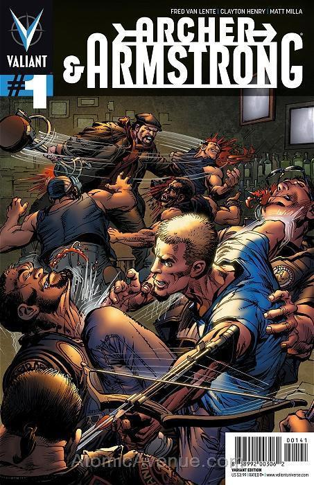 Archer and Armstrong (2nd Series) #1C VF/NM; Valiant | save on shipping - detail