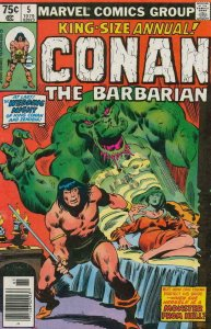 CONAN the BARBARIAN #5 Annual, VF, Robert Howard, Buscema, more in store