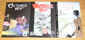 October Yen #1-3 VF complete series - brandon graham - tiny print run set 2