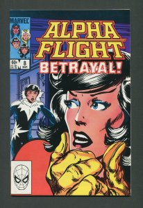 Alpha Flight #8  / 9.4 NM - 9.6 NM+   March 1984