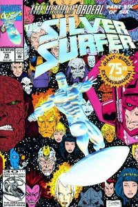 Silver Surfer (1987 series) #75, VF+ (Stock photo)