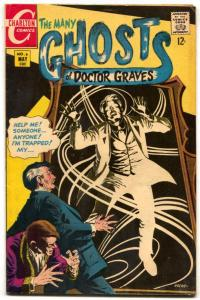 Many Ghosts of Doctor Graves #6 1967-Charlton Comics FN