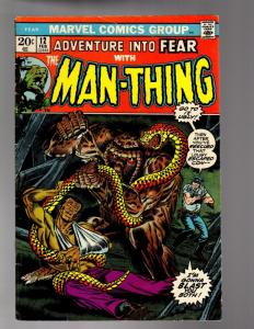 FEAR (ADVENTURES INTO) 12 FINE MINUS October 1972