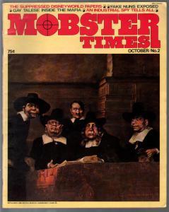 Mobster Times #2 10/1972-Xaviera Hollander-Gay Talese-Mafia-FN