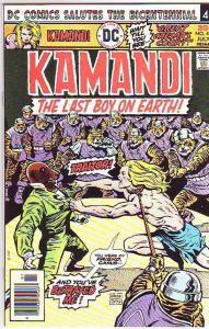 Kamandi the Last Boy on Earth #43 (Jul-76) MT- Super-High-Grade Kamandi