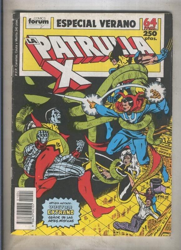 La Patrulla X especial verano 1989: El infierno de Rondador (numerado 2 en tr...
