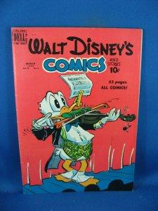 WALT DISNEY COMICS STORIES 114 VF- BARKS 1950