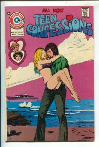 Teen Confessions #88 1974-Charlton-25¢ cover price-find a word puzzle-swimsui...