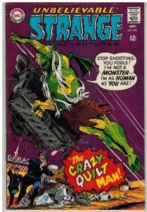 STRANGE ADVENTURES 204 VG Sept. 1967 COMICS BOOK