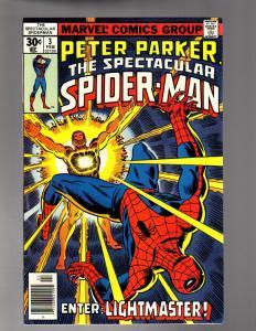 PETER PARKER 3 VERY FINE Feb. 1977