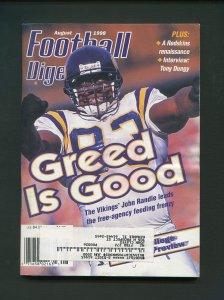 Football Digest / John Randle / August 1998