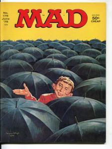 Mad-Magazine-#175-June-1975-Mort Drucker-Don Martin-David Berg-VF