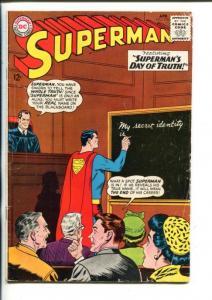 SUPERMAN -#176-1963-DC-SECRET IDENTITY-good/vg