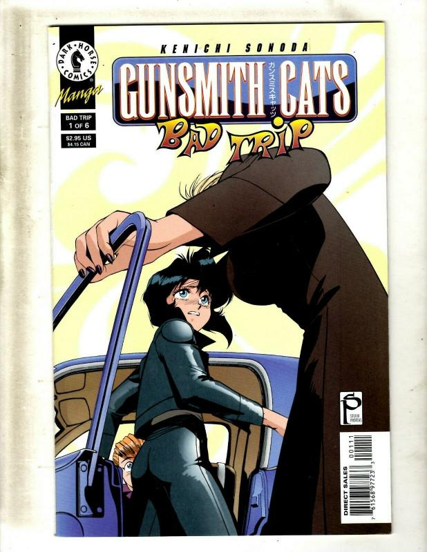 10 Comics Gunsmith Cats Bad Trip #1 2 3, Goldie vs Misty #1 2 3 4 5 6 7 JF20