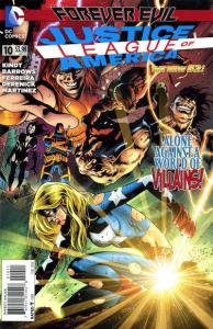 Justice League of America (2013 series) #10, NM- (Stock photo)