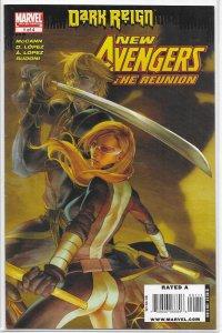 New Avengers: Reunion (2009) #1 of 4 VG McCann/Lopez, Ronin, Mockingbird
