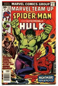 Marvel Team-up #53 1st John Byrne X-Men art. 1976 vf+