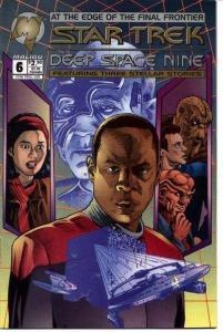 Star Trek: Deep Space Nine (1993 series) #6, VF+ (Stock photo)