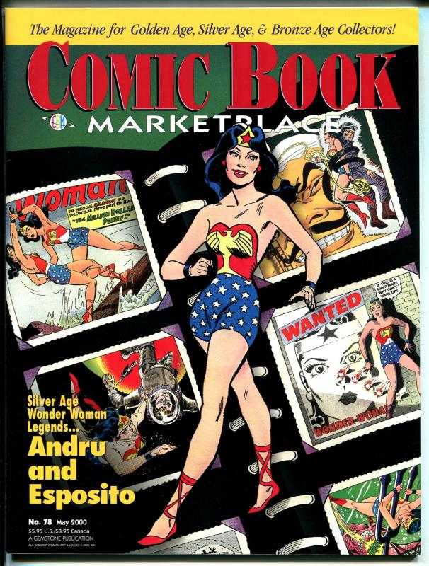 Comic Book Marketplace #78 2000-Gemstone-Wonder Woman-Andru-Esposito-VF