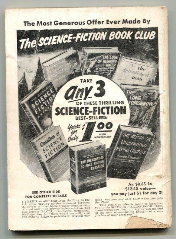 Super-Science Fiction #2 February 1957- Harlan Ellison VG