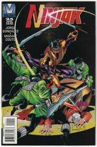 Ninjak #25 November 1995 Valiant