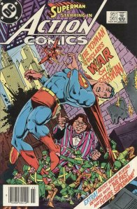 Action Comics (Canadian Edition) #561 FN; DC | save on shipping - details inside